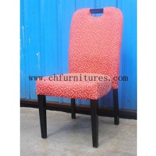 Red Rose Fabric Soft Hotel Dining Furniture (YC-F009-02)
