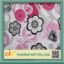 Fashion new design elegant waterproof soft printing pvc film for table cloth and shower curtain