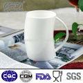 hot sale white magic mug for home