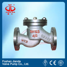 2.5 inch casting steel flange end check valve price