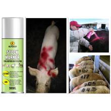 Autokem High Reflective Tier Markierung Farbe, Viehbestand Markierung Spray Farbe China (AK-S3001)