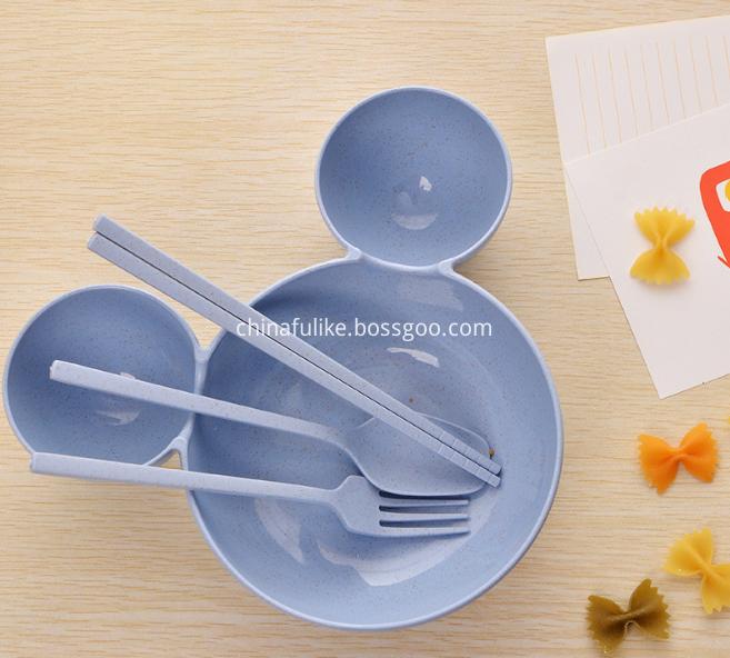 Bamboo Tableware Set