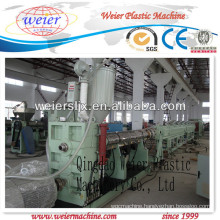 HDPE pipe extrusion machinery with CE certificate