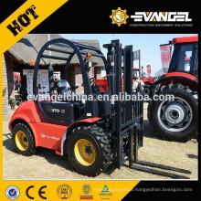 YTO CPCP30 China Rough Terrain 3 ton Diesel Forklift Truck