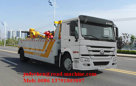 30 TON Wrecker Tow Truck / Diesel Obstacle Trucks