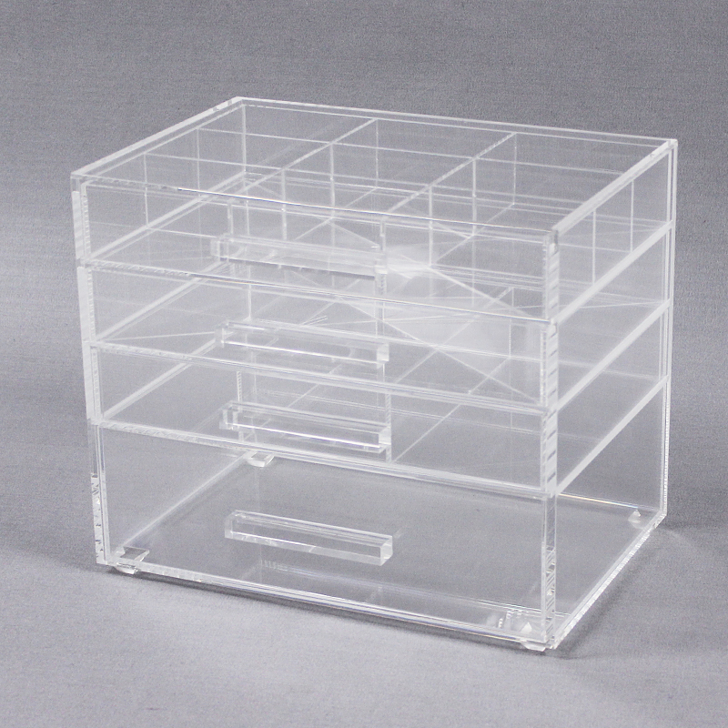 Clear Acrylic Cosmetic Organiser