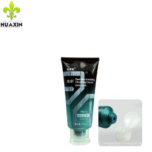 new fashion design cosmetics plastic tubes for men for facial cream