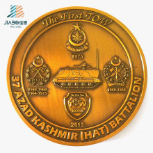 Custom 70mm Promotion Challenge Commemorate Military Coin for Souvenir Gift