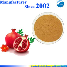 Vente chaude de haute qualité extrait naturel de grenade 90% d'acide ellagique