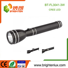 Factory Wholesale 2AA Ni-Mh Battery Used Metal Material Long Beam Camping 3w High Power Rechargeable led Flashlight