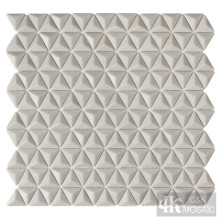 3D Beige Glass Mosaic Shower Tiles for Sale