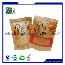Brown Kraft Paper Bag with Clear Window