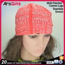 Chapeaux de bandana rouges fait sur commande de vente directe d'usine