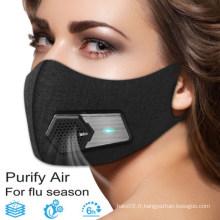 Masque facial électronique intelligent respirateur filtrant KN95