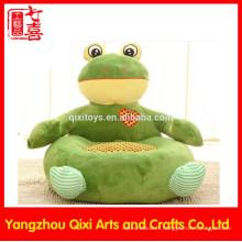La meilleure qualité grenouille en peluche enfants canapé chaise douce peluche canapé chaise pour les enfants