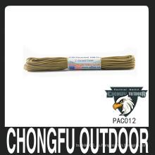 Нейлон военный парашют шнур nanjing поставщик бесплатный образец