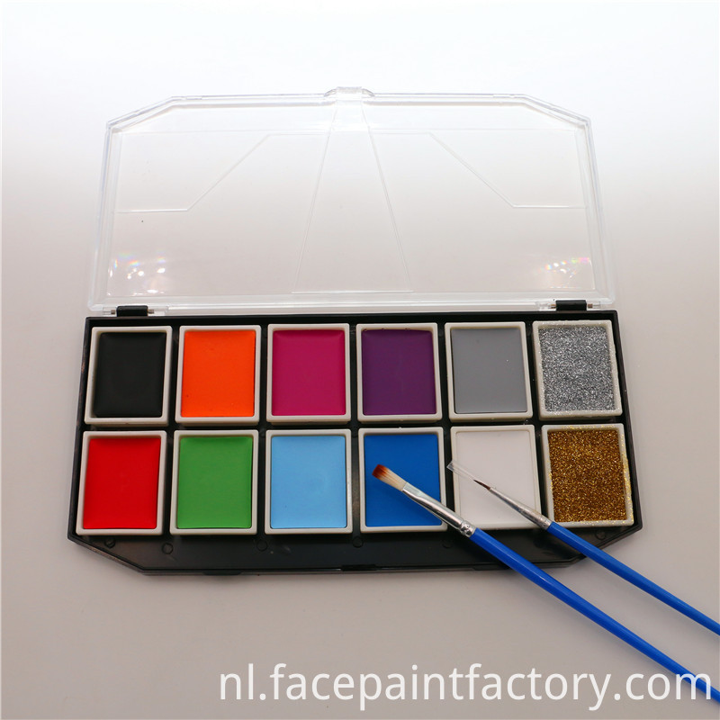 12 Colors Face Paint