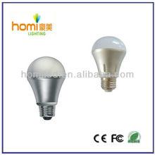 Gespinnt Aluminium Lampe, led-Lampe, führte Birne