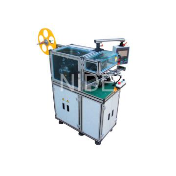 Máquina de inserción de papel de aislamiento de armadura para motor de corriente continua, motor de limpiaparabrisas