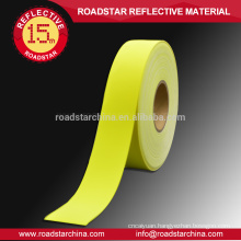 For 119 police cloth,flame retardant reflective fabric tape