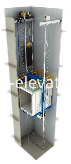 MRL Cargo Elevator Mechanical Parts Package