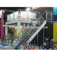 double deck exhibition booth for trade show stand from Shanghai,china