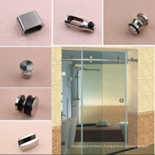 Stainless Steel Sliding glass shower door system