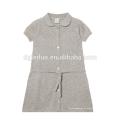 Cómodo y suave vestido casual de algodón para niños vestidos de algodón para los deportes