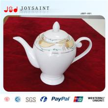 Costomized novo estilo de porcelana chá pote para uso doméstico