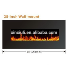 38 INCH wall mounted led fireplace