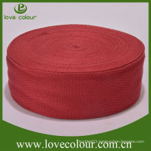 High quality bamboo dog collar webbings red bamboo webbing
