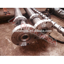 single screw and barrel for plastic extruder machine
