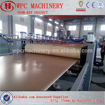 Qingdao HEGU Professional facotry WPC board making machine / WPC furniture board making machine