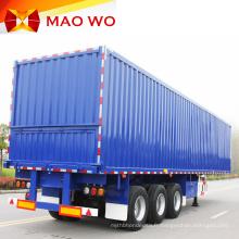 Semi-remorque fourgon 3 essieux 50 tonnes