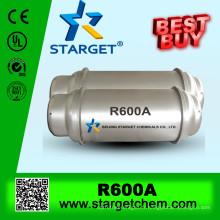 Isobutane r600a sur vente chaude avec une pureté élevée de 99,9%