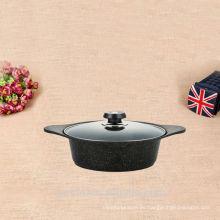 Nueva cocina de aluminio a medida de sopa de utensilios de cocina