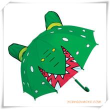 17 Zoll-Karikatur-geformter Kinderregenschirm für Förderung