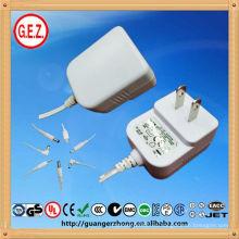 adaptador montado en la pared 12v 0.4a ac adaptador de corriente alterna