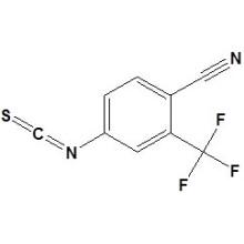 4-Isotiocianato-2- (trifluorometil) benzonitrilo N�de CAS 143782-23-4