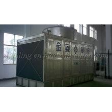 Torre de enfriamiento rectangular de flujo cruzado de acero inoxidable (certificación CTI) (JNT-250SS)