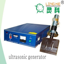 Generador, transductor y cuerno continuos ultrasónicos de la soldadura para el bolso del diente