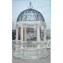 Antique Garden Pavilion with Stone Marble Granite Sandstone Limestone (GR029)