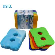 Pacotes de gelo de refrigerador de almoço reutilizáveis de plástico