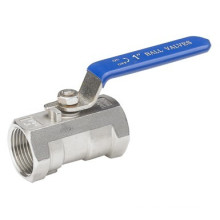 1PC Ball Valve with Screw Ends, Reduce Port, 1000wog