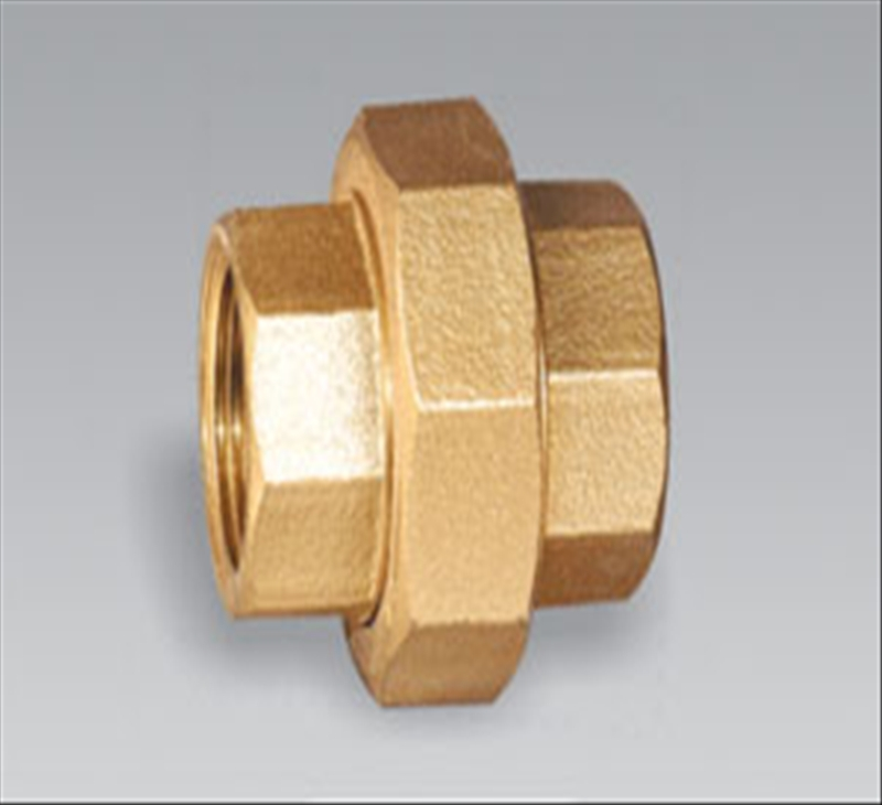 Brass pipe fitting bronze Femal Equal Union