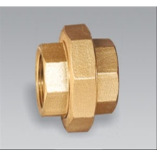 Brass pipe fitting brass Female Union