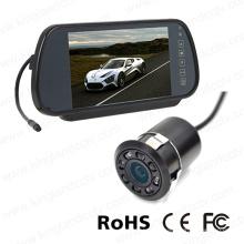 7inch Reversing Mirror Monitor with Mini Rear View Bumper Camera