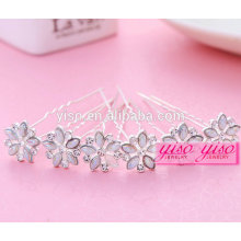 fashion jewelry crystal alloy jewelry hair pin