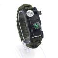 Браслет Survival Paracord LED Многофункциональный браслет