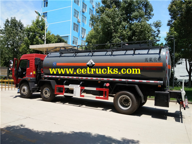 FAW Sodium Hydroxide Tanker Trucks